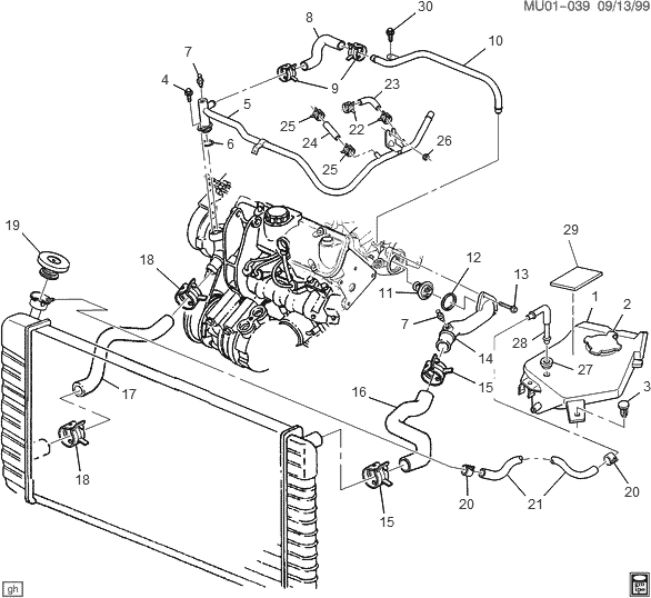 Need A Diagram For Oldsmobile Silhouette Heater Hoses Fixya Within Oldsmobile Silhouette Engine Diagram