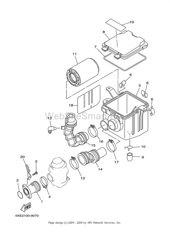 Yamaha Big Bear Parts Diagram
