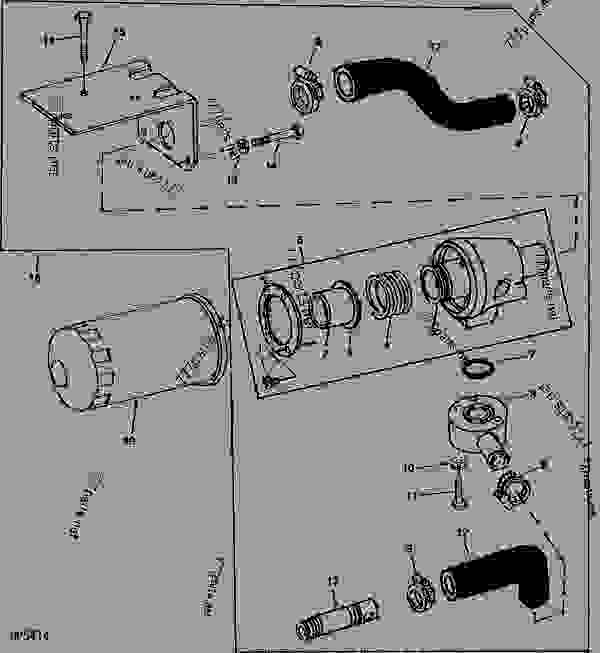 John Deere 1050 Parts Diagram