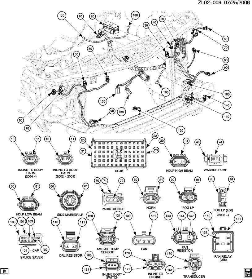 12059181 inside 2003 Saturn Vue Parts Diagram