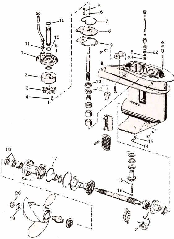 19 Best Yamaha Engine Repair And Maintenance Images On Pinterest in Yamaha Outboard Motor Parts Diagram