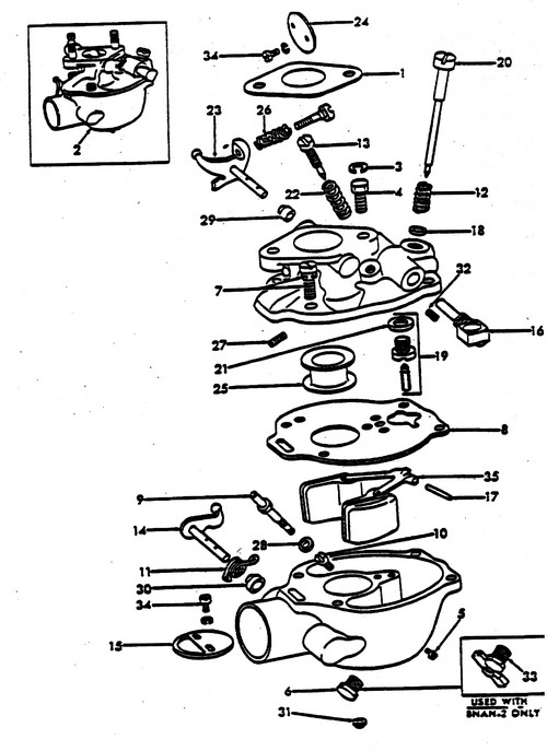 1953 Golden Jubilee Ford Tractor Parts Diagram | Tractor Parts throughout 8N Ford Tractor Parts Diagram