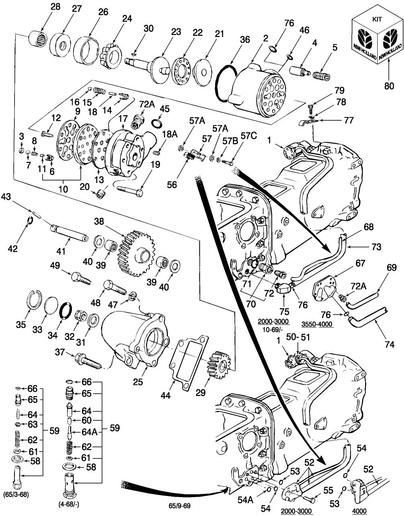 1969 Ford 3000 Tractor Steering Part Numbers : Ford tractor parts diagram automotive
