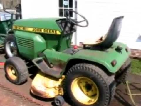 1982 John Deere 212 - Youtube inside John Deere 212 Parts Diagram