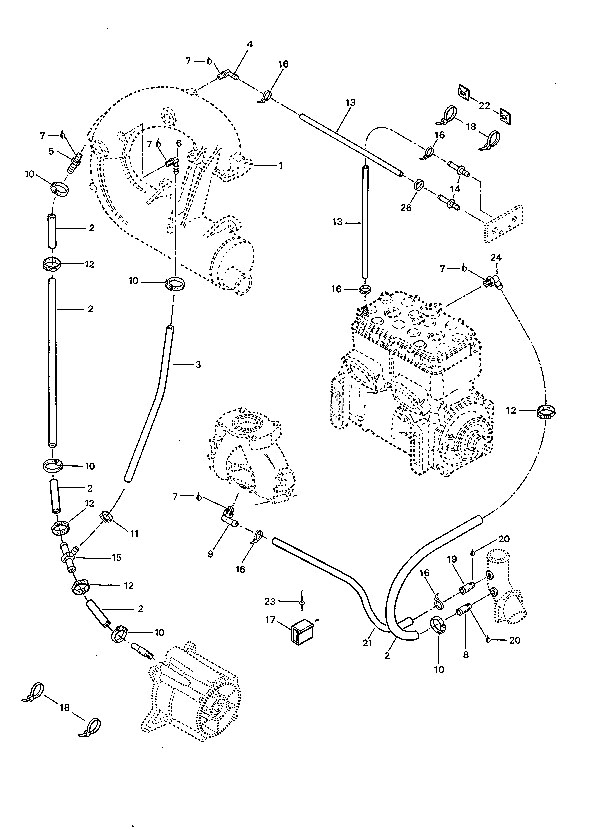 1994 Sea-Doo Bombardier Gts (Rotax 587) Need Engine Bay Pictures intended for Tigershark Jet Ski Parts Diagram