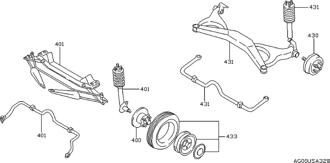 1995 Nissan Maxima Oem Parts - Nissan Usa Estore within 2001 Nissan Maxima Parts Diagram