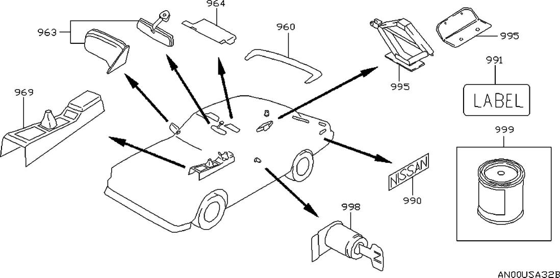 1997 Nissan Maxima Oem Parts - Nissan Usa Estore inside 2004 Nissan Maxima Parts Diagram