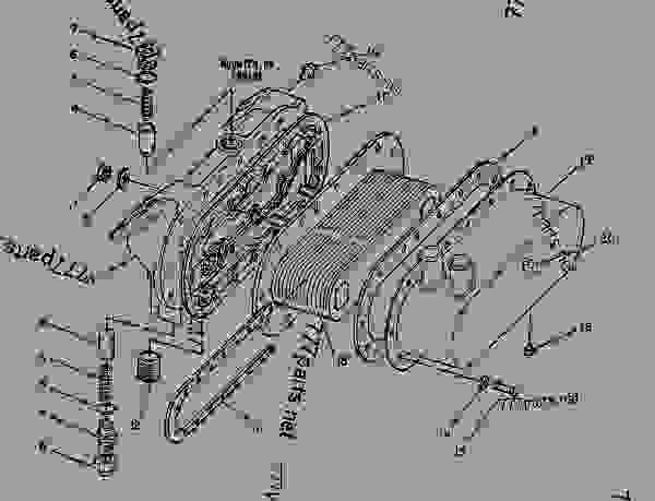 3208 cat engine parts diagram