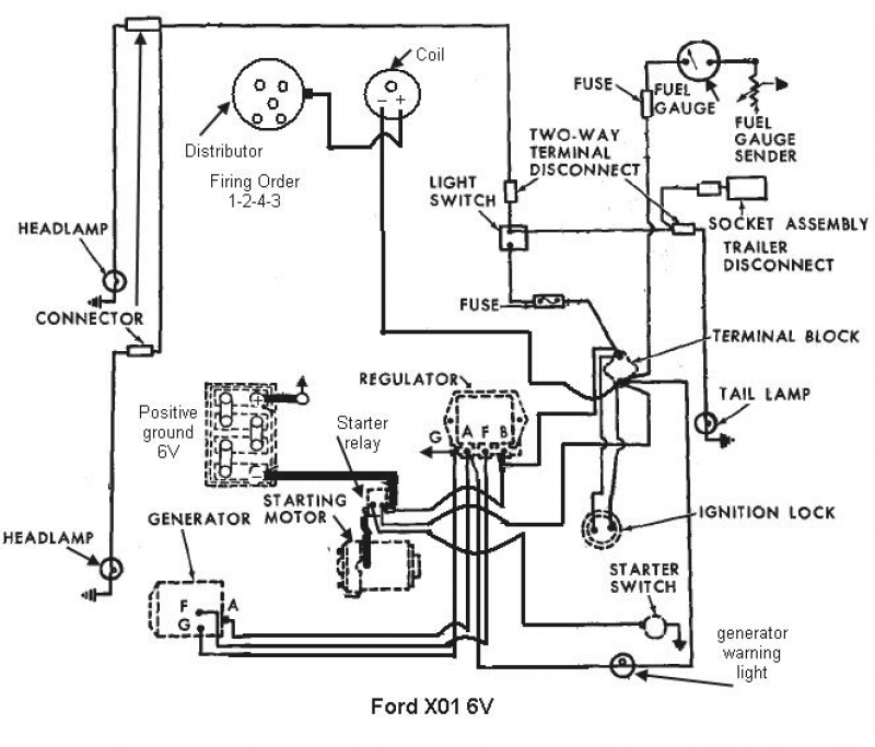 2000 ford tractor parts diagram
