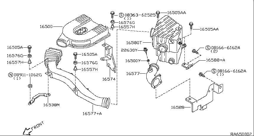 2000 Nissan Frontier Crew Cab Oem Parts - Nissan Usa Estore regarding 2000 Nissan Frontier Parts Diagram