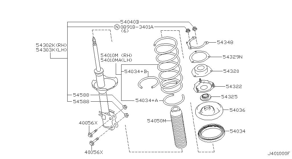 2000 Nissan Maxima Oem Parts - Nissan Usa Estore with 2000 Nissan Maxima Parts Diagram