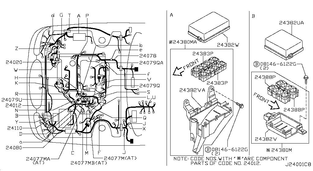 2001 Nissan Maxima Oem Parts - Nissan Usa Estore inside 2001 Nissan Maxima Parts Diagram