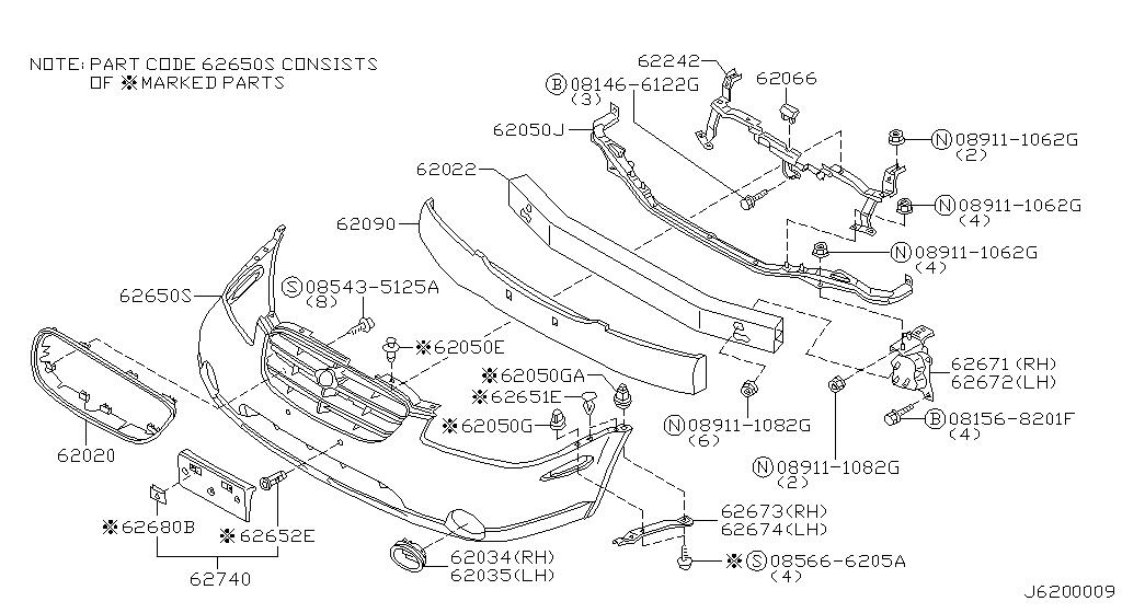 2001 Nissan Maxima Oem Parts - Nissan Usa Estore with 2001 Nissan Maxima Parts Diagram