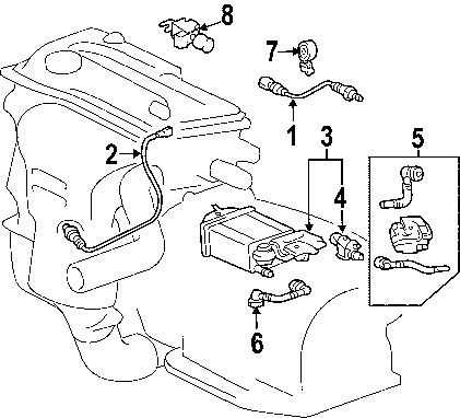 2003 Toyota Camry Parts Diagram | Periodic & Diagrams Science regarding 2003 Toyota Camry Parts Diagram
