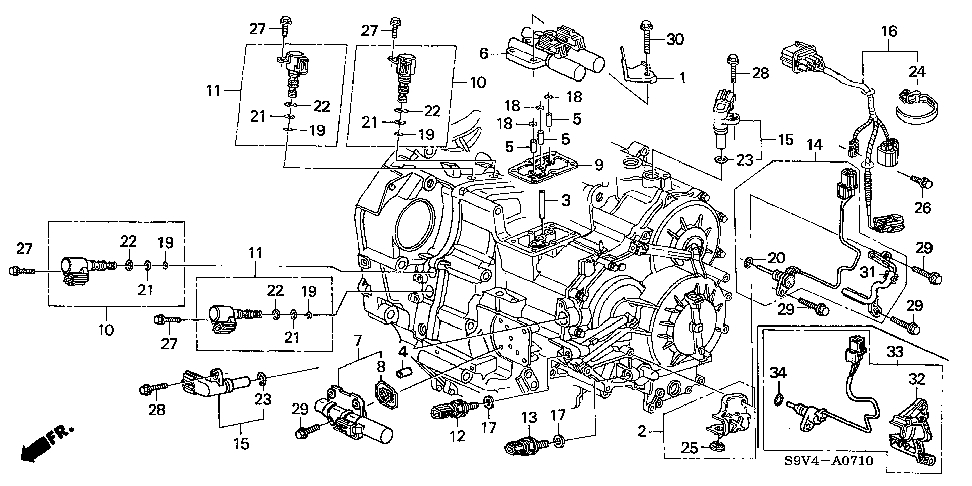 2005 Honda Pilot Parts Diagram | Automotive Parts Diagram ...