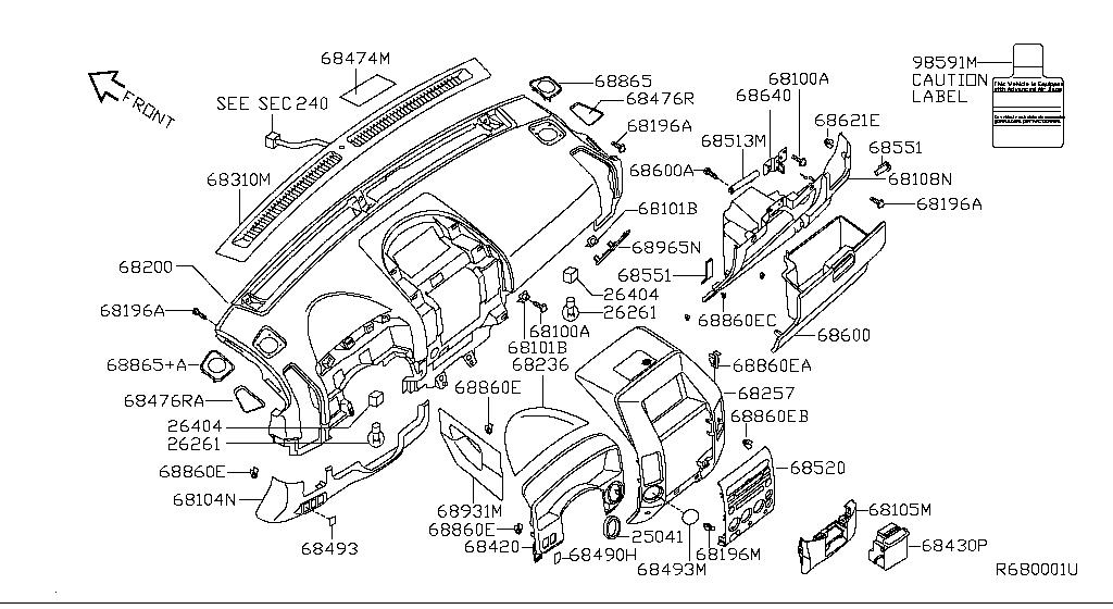 2004 Nissan Titan Crew Cab Oem Parts - Nissan Usa Estore regarding 2006 Nissan Titan Parts Diagram