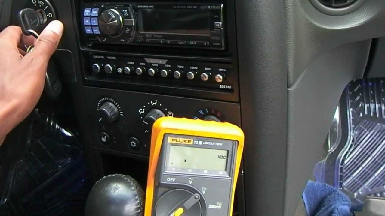 2004 Pontiac Grand Prix Radio Install Info. - Youtube throughout 2006 Pontiac Grand Prix Parts Diagram