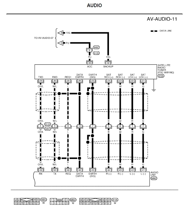 2005 nissan radio wiring diagram 2005 nissan altima wiring diagram