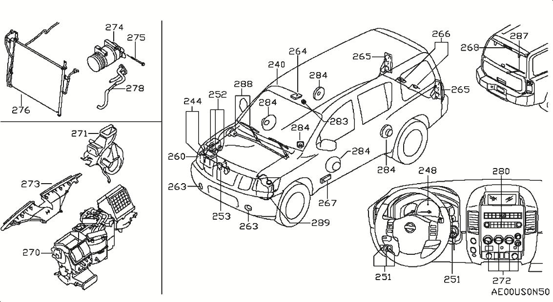 2005 Nissan Xterra Oem Parts - Nissan Usa Estore inside 2000 Nissan Xterra Parts Diagram