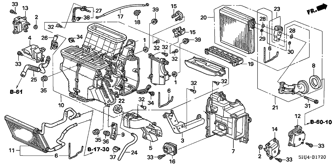2006 Honda Odyssey Ex Engine Diagram. Honda. Wiring Diagram For Cars in Honda Odyssey 2003 Parts Diagram