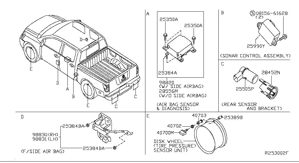 2006 Nissan Titan Crew Cab Oem Parts - Nissan Usa Estore inside 2006 Nissan Titan Parts Diagram