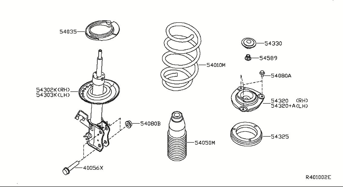 2008 Nissan Sentra Oem Parts - Nissan Usa Estore for 2008 Nissan Sentra Parts Diagram