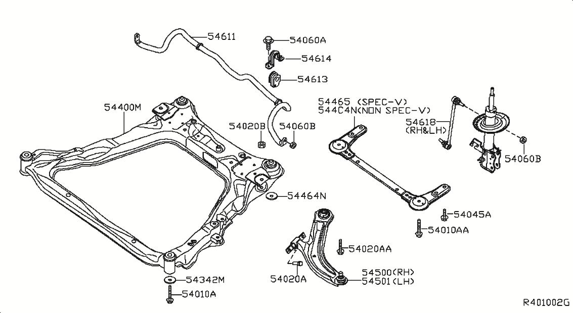2008 Nissan Sentra Oem Parts - Nissan Usa Estore within 2008 Nissan Sentra Parts Diagram