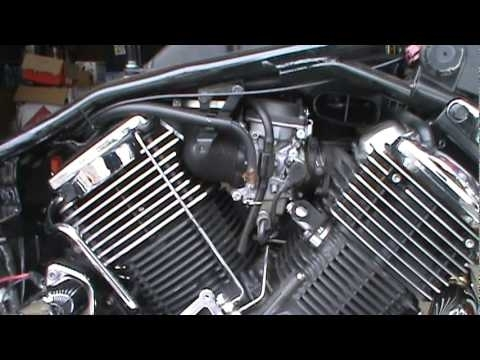 2008 Yamaha V Star 1100 Hypercharger Install Part 1.mpg - Youtube regarding V Star 1100 Parts Diagram