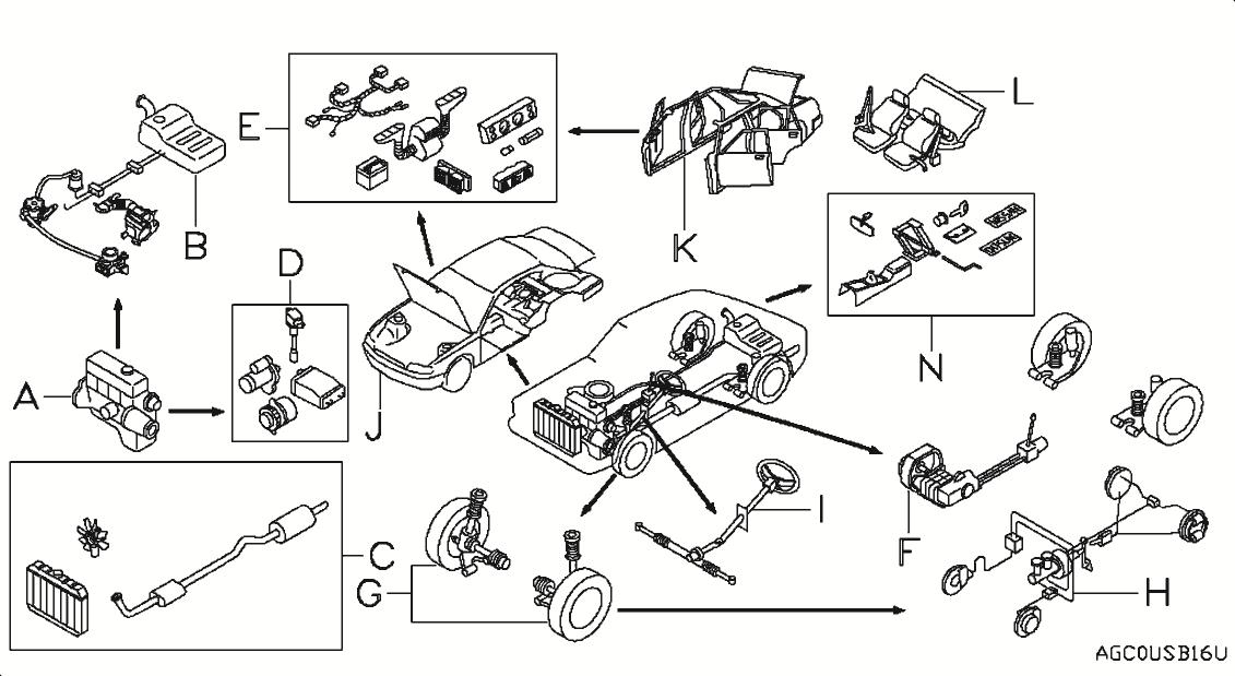 2011 Nissan Sentra Oem Parts - Nissan Usa Estore regarding 2008 Nissan Sentra Parts Diagram