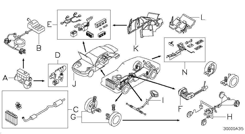 2013 Nissan Maxima Oem Parts - Nissan Usa Estore throughout 2001 Nissan Maxima Parts Diagram