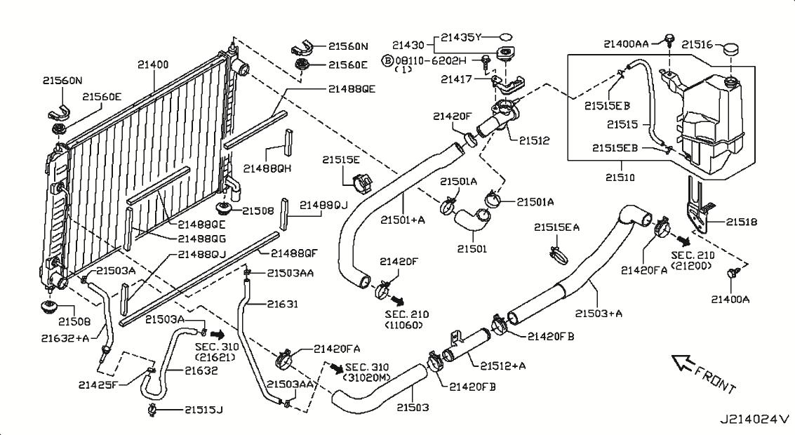2013 Nissan Murano Oem Parts - Nissan Usa Estore throughout 2005 Nissan Murano Parts Diagram