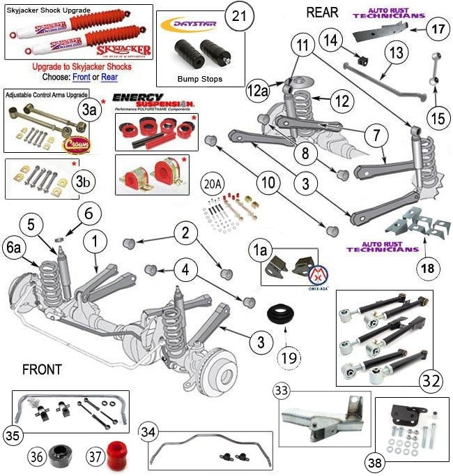 23 Best Jeep Tj Parts Diagrams Images On Pinterest | Jeep Tj throughout Front End Suspension Parts Diagram