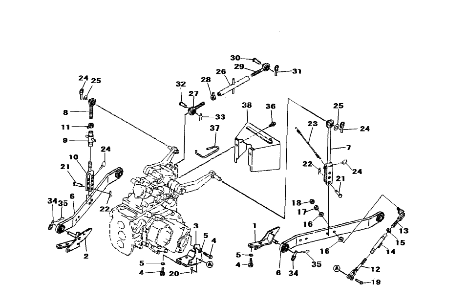 3-Point Lift & Hydraulic Parts For 2615 Mahindra Tractor with 3 Point Hitch Parts Diagram