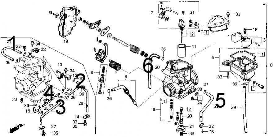 Honda Foreman 500 Parts Diagram together with 1986 Trx 200sx Honda Wiring Diagram together with Honda Foreman Angle Sensor Location moreover SERIAL1 further Schematics g. on honda foreman 500