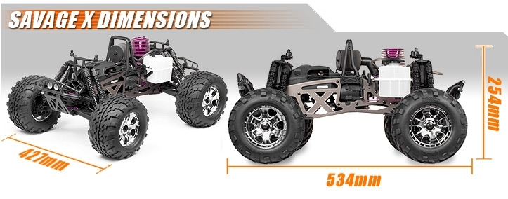873 Savage X 4.6 Reverse Rtr within Hpi Savage 25 Parts Diagram
