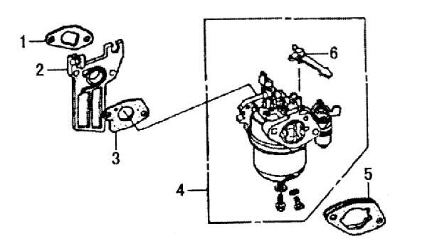 Aftermarket Honda Gx160 Parts in Honda Gx160 Carburetor Parts Diagram