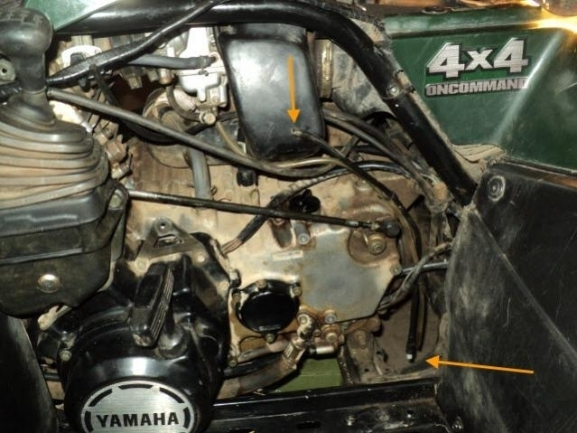 Air Cleaner Breather? – Yamaha Grizzly Atv Forum Inside Yamaha in Yamaha Grizzly 600 Parts Diagram