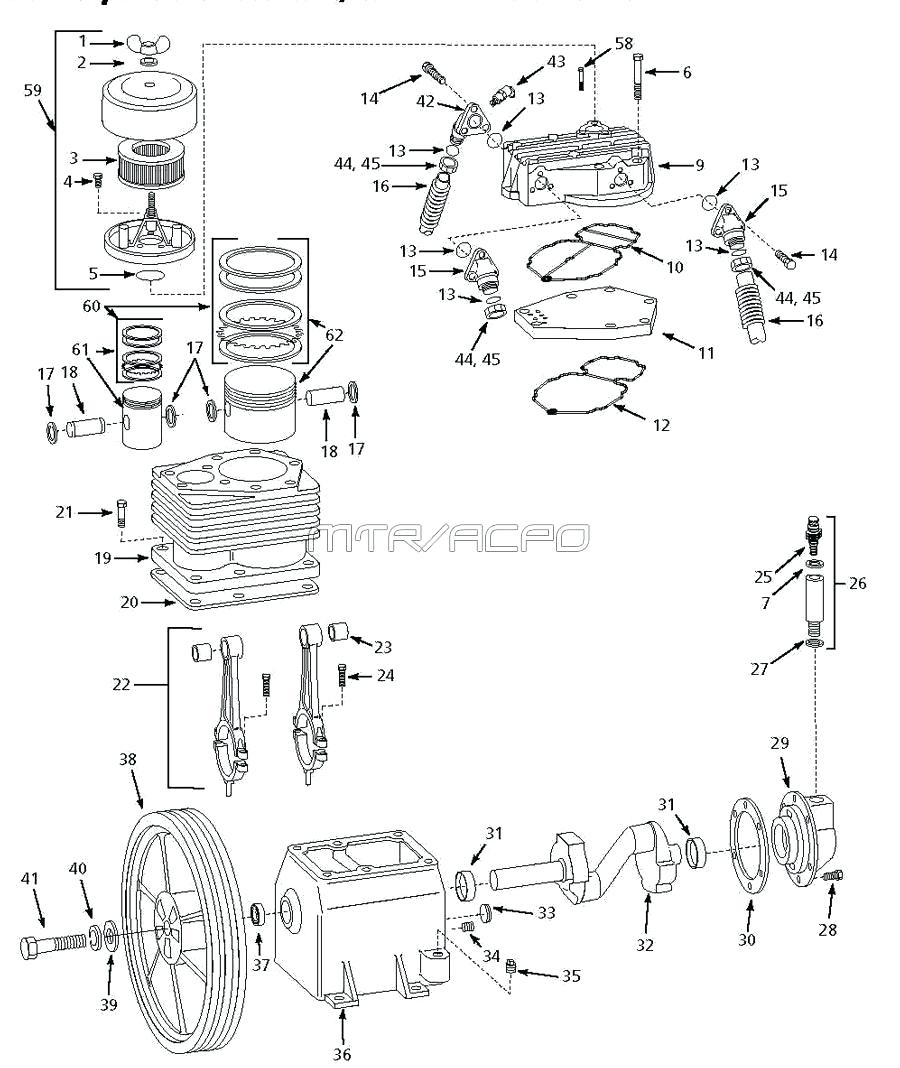 Air Compressor Screw Tank Parts With Dryer – Worldcamp.co inside Ingersoll Rand Air Compressor Parts Diagram
