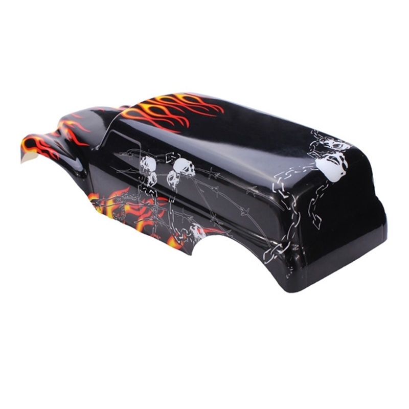 Aliexpress : Buy Rc Car Spare Parts Shell For Traxxas Grave regarding Traxxas Grave Digger Parts Diagram