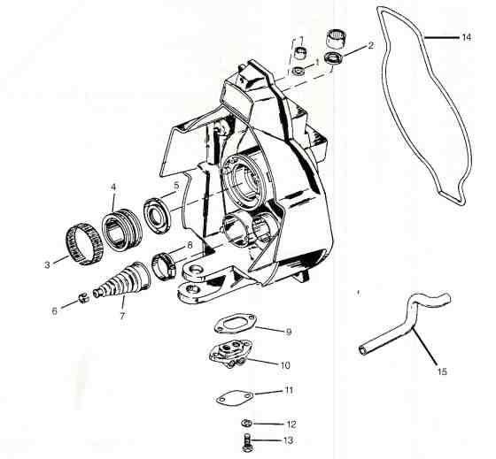 Alpha Exploded View Outdrive Parts Drawings with regard to Alpha One Outdrive Parts Diagram
