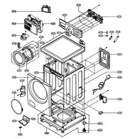 Appliance Parts | Appliance Repair | Metro Phoenix Area throughout Lg Washing Machine Parts Diagram