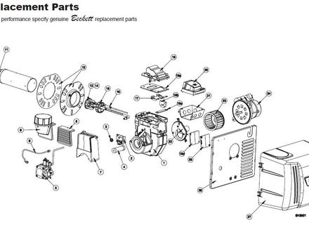 Beckett Burner Model Nx, Oil Furnace Burner Parts - Tanketas pertaining to Beckett Oil Burner Parts Diagram