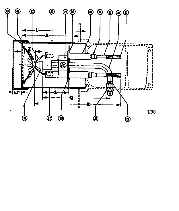 Beckett Burner/oil Parts | Model Sfoilburner | Sears Partsdirect with regard to Beckett Oil Burner Parts Diagram