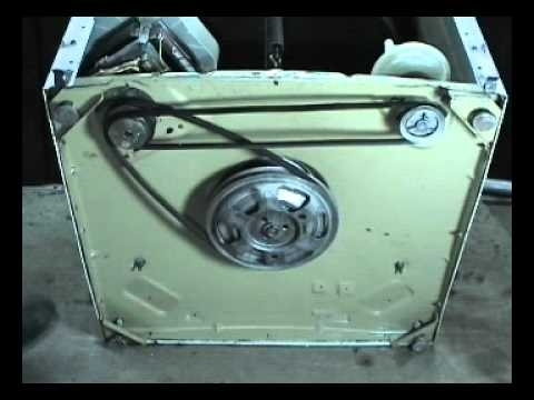 Belts Replacing Maytag 2 Belts Top Load Washers - Youtube pertaining to Maytag Washing Machine Parts Diagram