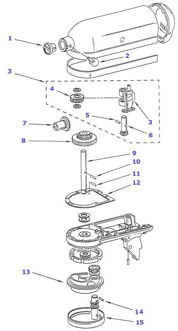 Best 25+ Kitchen Stand Mixers Ideas On Pinterest | Kitchenaid regarding Kitchenaid Artisan Mixer Parts Diagram