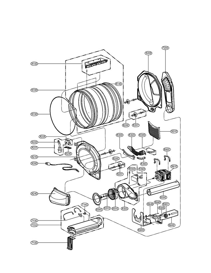 Best 25+ Lg Dryer Parts Ideas On Pinterest | Refashioning within Lg Washing Machine Parts Diagram