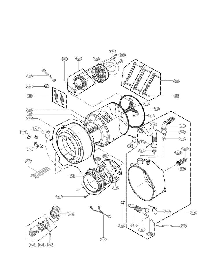 Best 25+ Lg Washer Parts Ideas On Pinterest | Lg Dryer Parts throughout Kenmore Elite Washer Parts Diagram