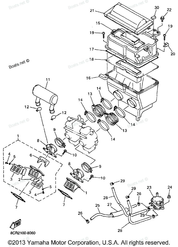 Yamaha jet ski parts diagram automotive parts diagram images for Yamaha wave runner parts