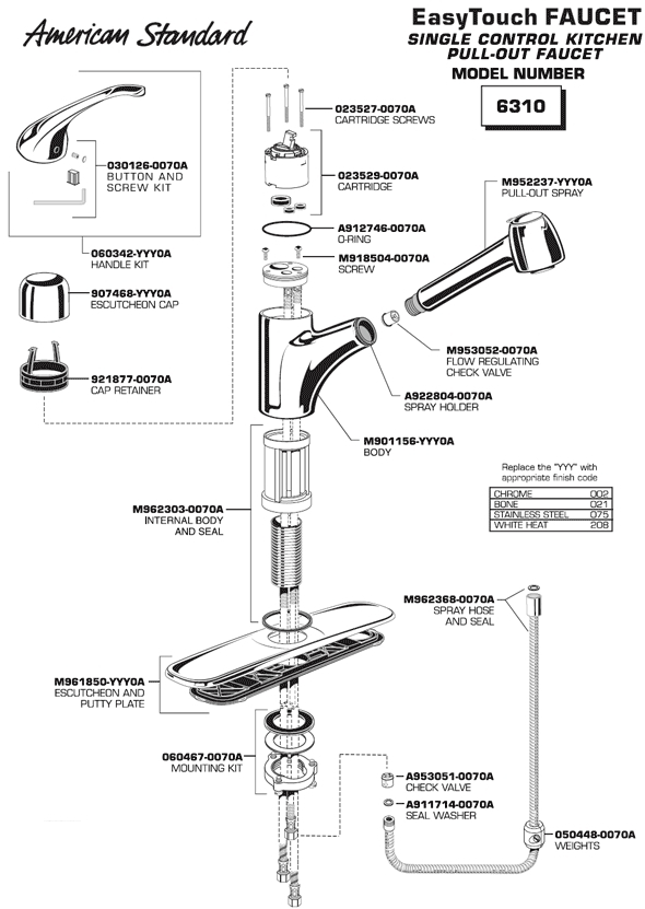 Kohler Kitchen Faucet Parts Diagram Automotive Parts Diagram Images