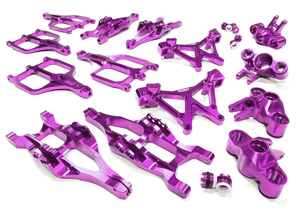 Billet Machined Suspension Set For Traxxas 1/10 T-Maxx/e-Maxx 3903 throughout Traxxas E Maxx Parts Diagram